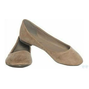 Taupe flats